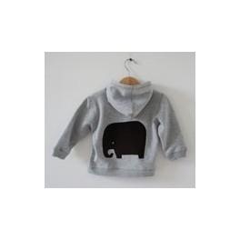 hoodie + olifant