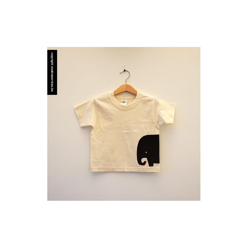 bio t-shirt + olifant zij