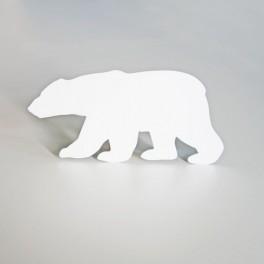 happy holidays polar bear