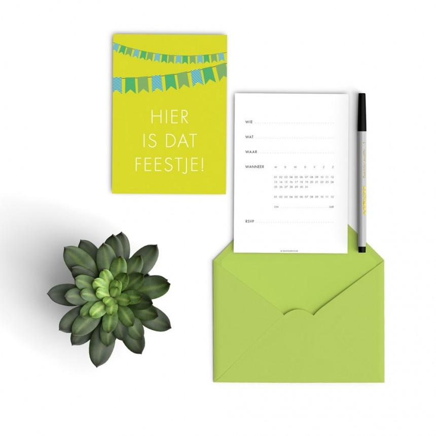 green flag invitations