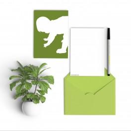 silhouette groen