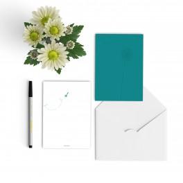 condolence card glossy