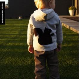 hoodie + eekhoorn